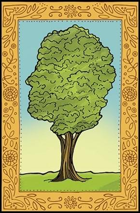 Мистическое дерево приняло вид убитой женщины (5 фото)