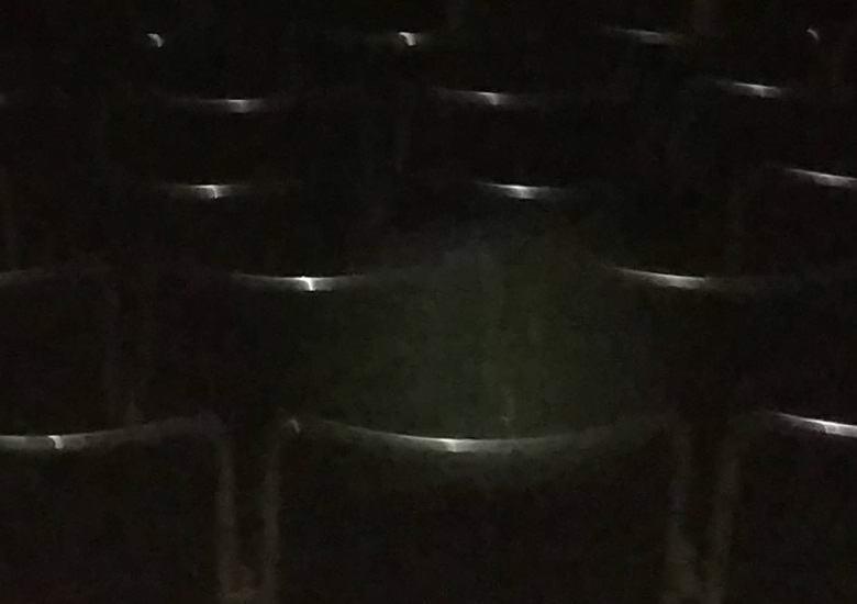 В кинотеатре засняли призрачного зрителя