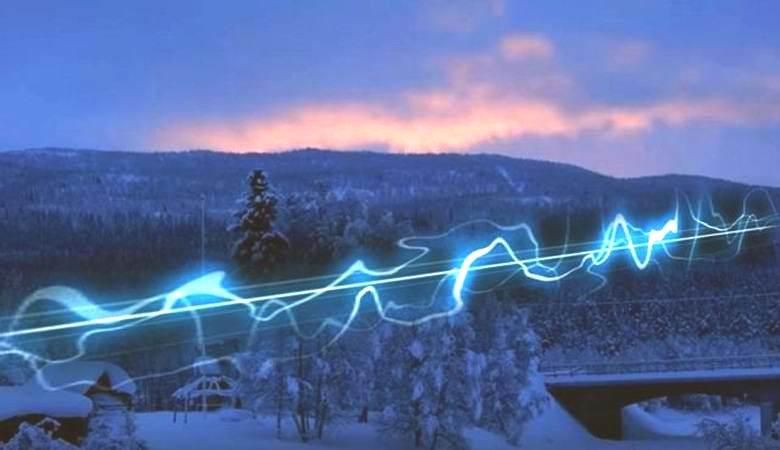 Непонятные звуки доносились с неба в Швеции