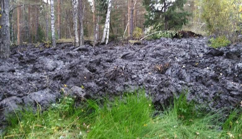 Ученые исследовали загадочную грязевую реку в Челябинской области