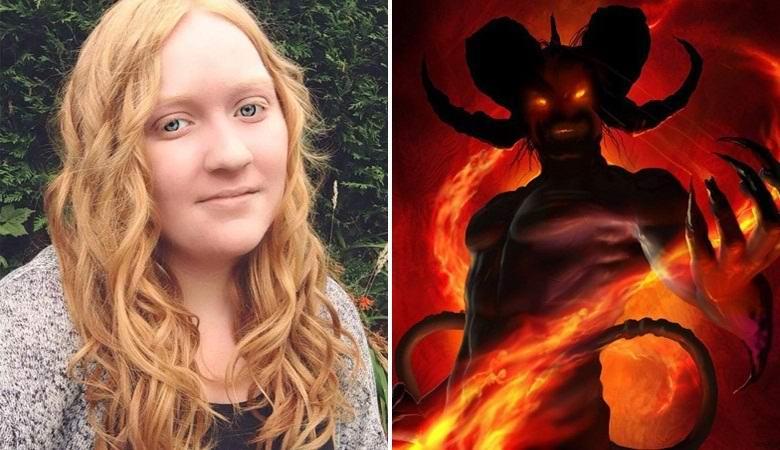 Девушка запечатлела демона из городской легенды