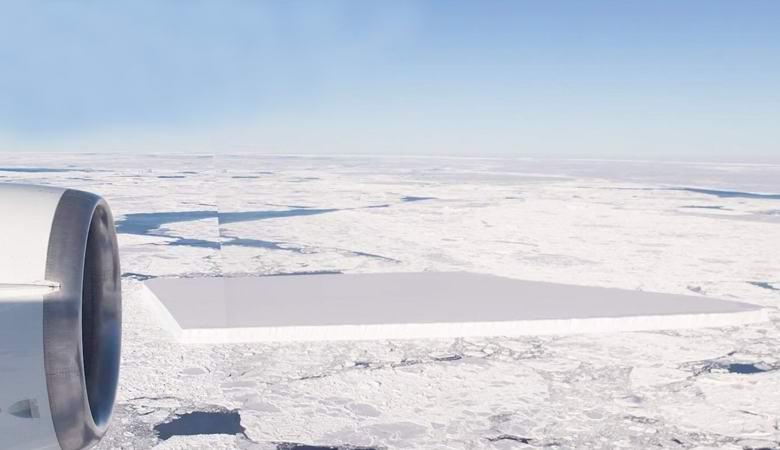 Невероятный прямоугольный айсберг оказался правдой, подтвердили в НАСА