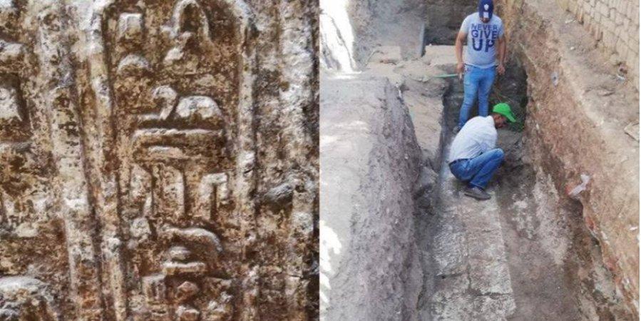 Древний египетский храм обнаружили во время строительных работ