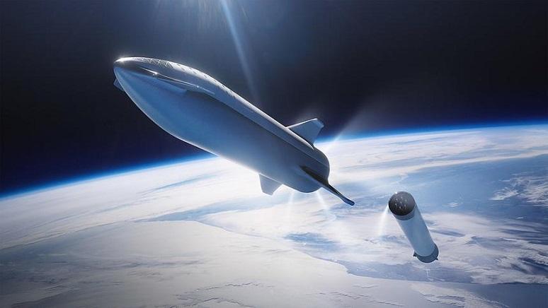 """Илон Маск продемонстрировал новый пассажирский космический корабль"""" />"""