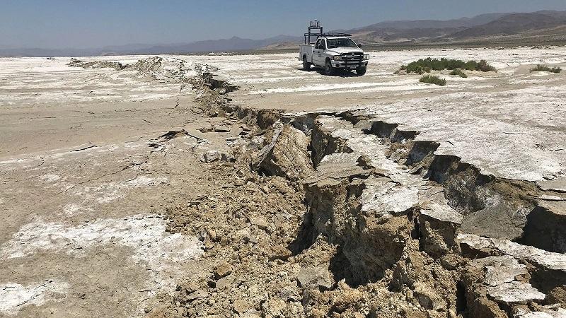 Впервые за 500 лет активизировался тектонический разрыв Гарлок