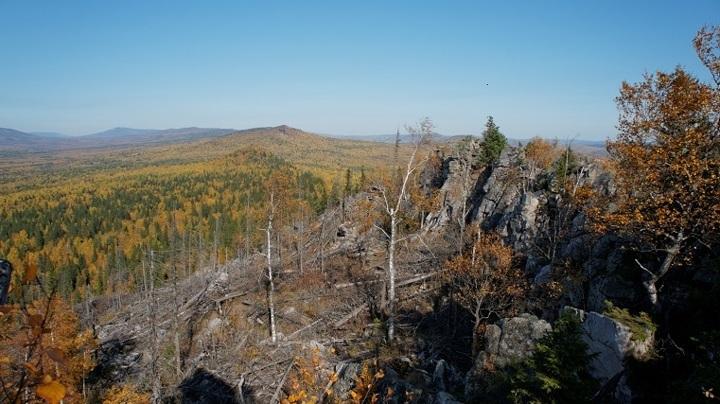 Аномальное место нашли туристы в Челябинской области