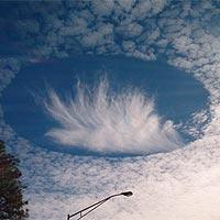Появление облаков непонятной природы наблюдается все чаще
