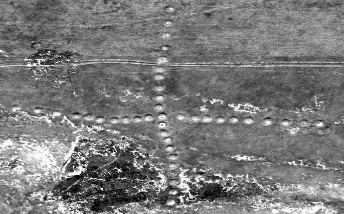 В Казахстане обнаружены огромные наземные рисунки