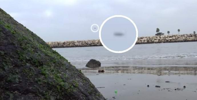 Американские рыбаки случайно засняли НЛО