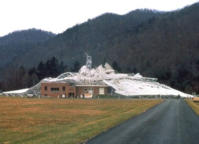 Инопланетяне разрушили крупнейший американский телескоп