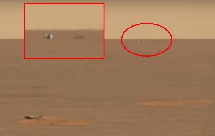 За посадкой ровера Opportunity наблюдали инопланетяне?