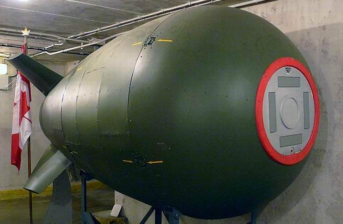 У канадского побережья найдена затонувшая ядерная бомба (3 фото)