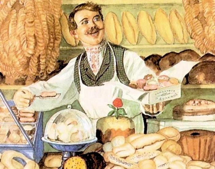 В прежние времена россияне ели все натуральное?