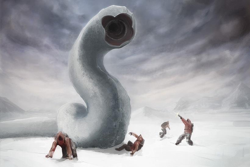 Плазмозавры Антарктиды