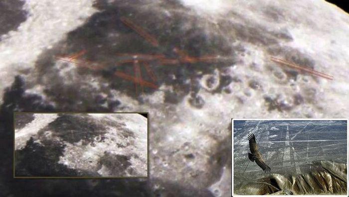 Загадочные линии Наска обнаружены на Луне