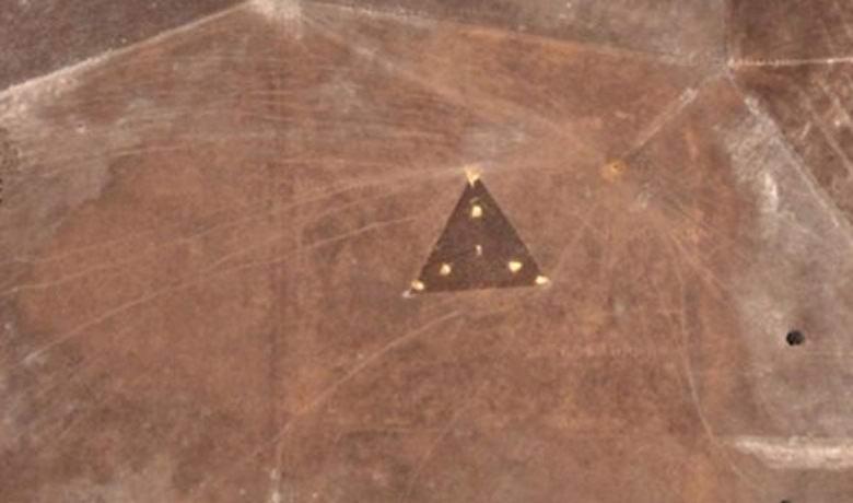 На спутниковых фото Австралии нашли «летающую тарелку»