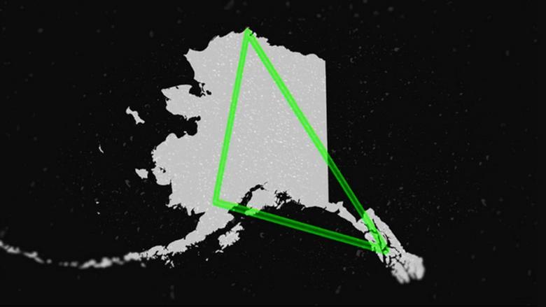 Аляскинский загадочный треугольник может посоревноваться с Бермудским (4 фото)