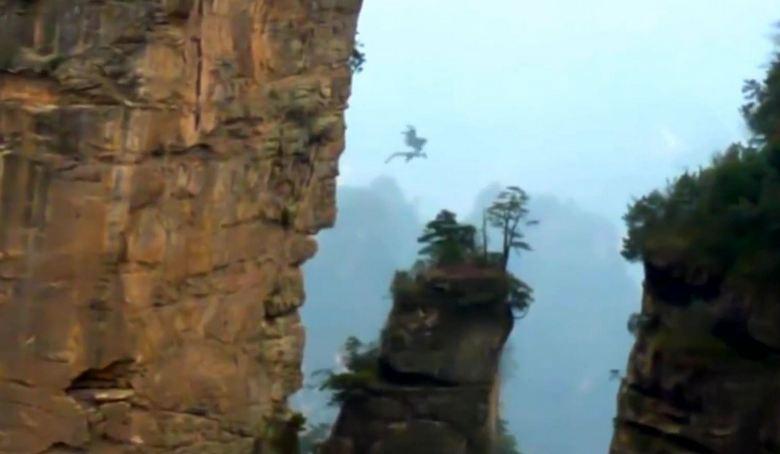 В Китае снова сняли на видео таинственного дракона в небе