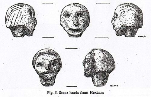 Загадочные Головы Хексема, рядом с которыми начинают происходить необъяснимые явления