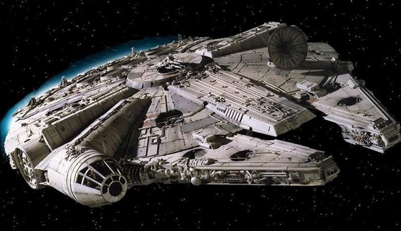 На спутниковом фото нашли корабль из «Звездных войн»
