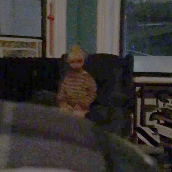 Американец сфотографировал жуткий призрак ребенка