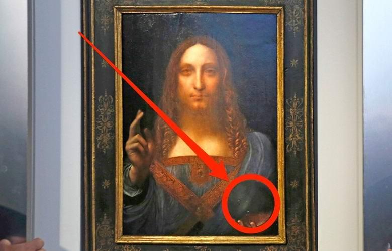 Странную деталь нашли на полотне да Винчи, проданном за 450 миллионов