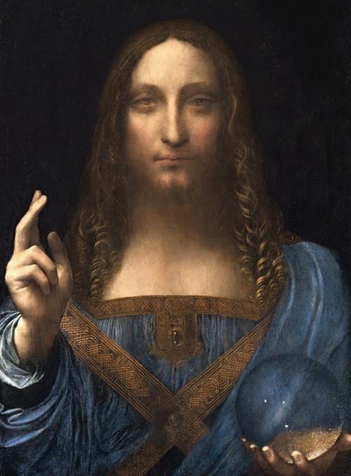 Страсти вокруг картины Леонардо да Винчи «Спаситель мира» (2 фото + видео)
