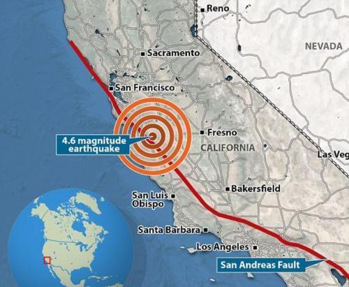 Второй фильм «Сан-Андреас» американцы могут увидеть в реале и даже поучаствовать в нем