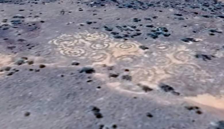 В Австралии нашли таинственные спирали на земле