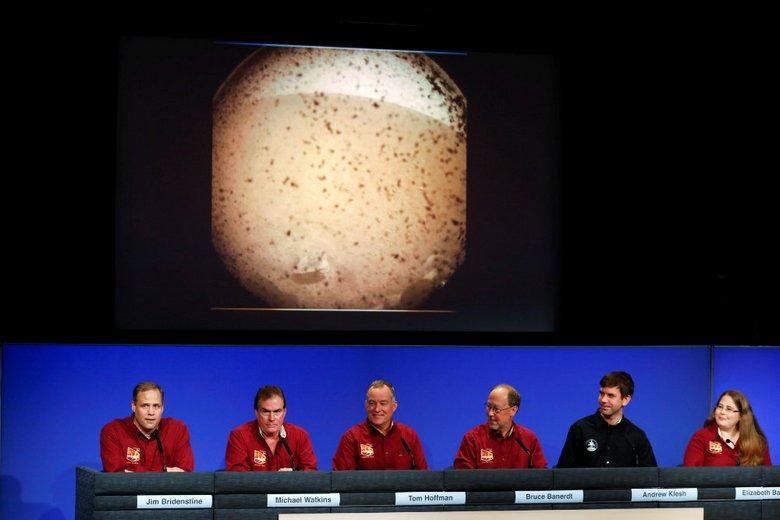 Аппарат NASA InSight удачно «примарсился»
