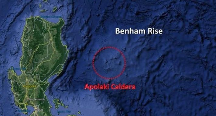 Обнаружен гигантский супервулкан в Филиппинском море