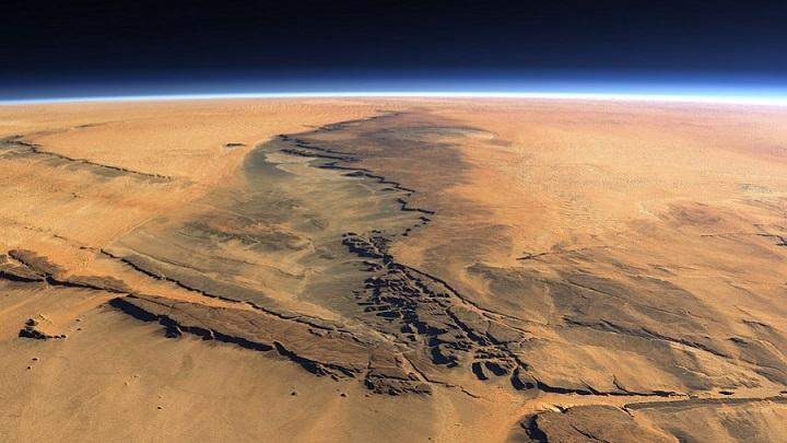 На Марсе зафиксирован рост количества кислорода