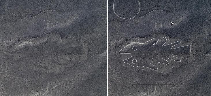 """В Перу снова обнаружили странные геоглифы"""" /></p> <p>» width=»800″><i style="""