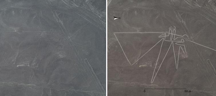 В Перу снова обнаружили странные геоглифы