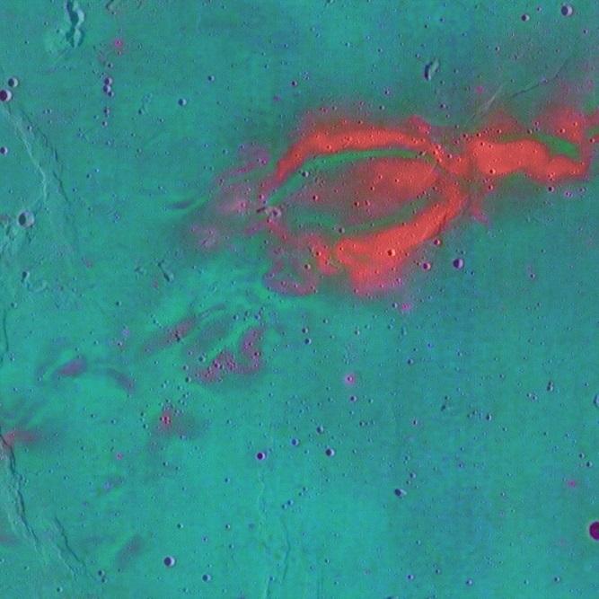 На поверхности Луны обнаружены странные «вихревые рисунки»