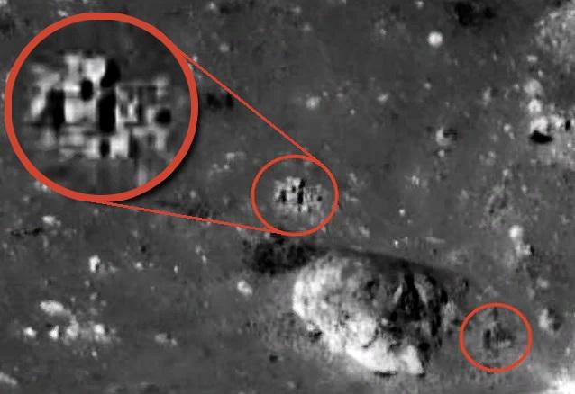Уфолог обнаружил на Луне инопланетную базу
