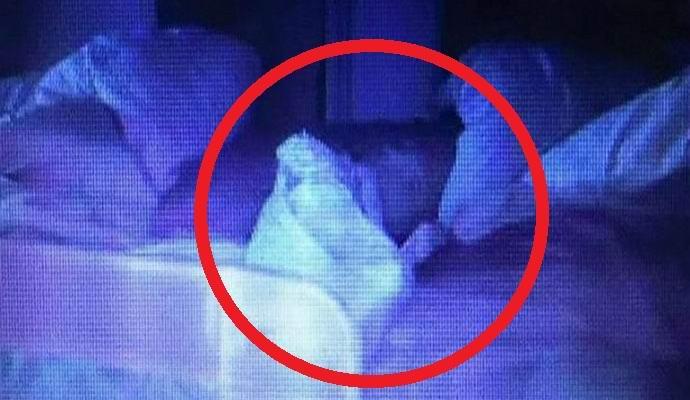 Видеоняня засняла призрак в комнате младенца