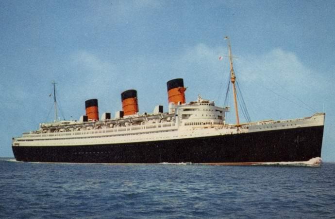 «Куин Мэри» – трансатлантический лайнер с призраками