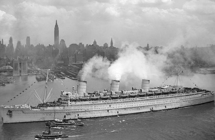«Куин Мэри» – трансатлантический лайнер с призраками (7 фото)