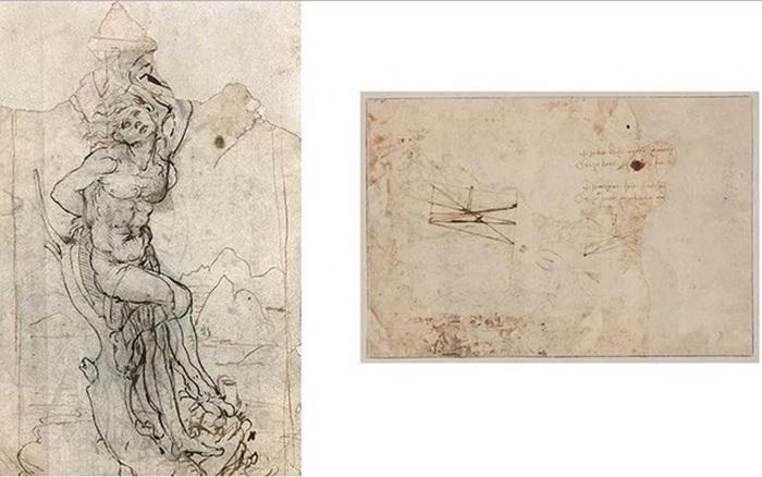 Загадочный рисунок Леонардо да Винчи