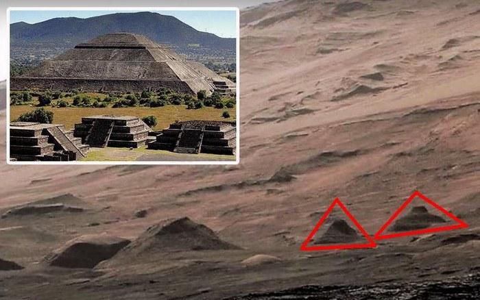 Снимок с пирамидами на Марсе сотрудники NASA скрывали более полгода