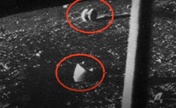 Загадочные снимки советского космического аппарата «Луна-13» (4 фото)