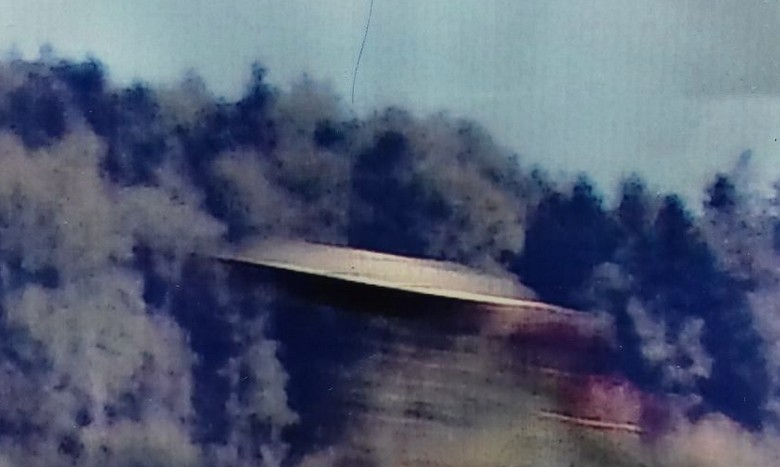 На видео сняли НЛО, маскирующееся под солнце