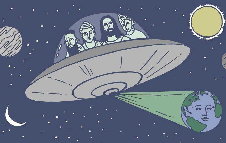 Уфологи полагают, что Иисус Христос был инопланетянином