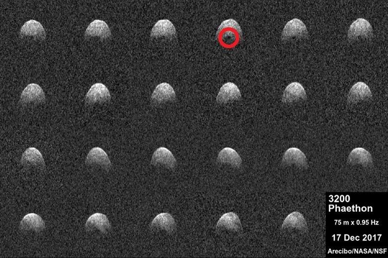 На опасном астероиде «Фаэтон» обнаружили крупный темный объект