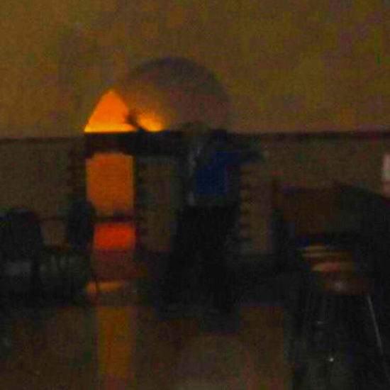 «Безголовый призрак» попал на фото