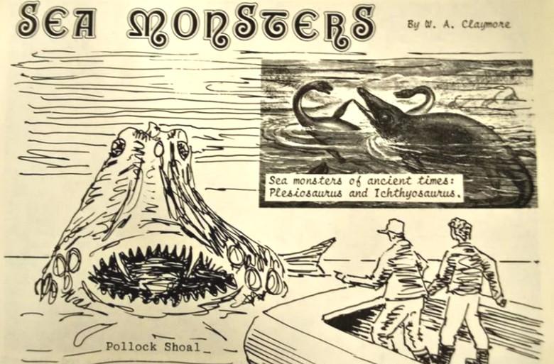 О морском монстре Канады