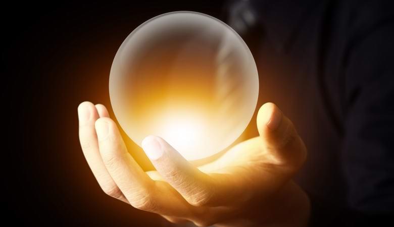 Загадочный светящийся шар «материализовался» в доме женщины