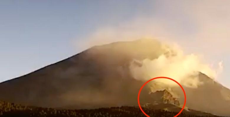 Мексиканский вулкан Попокатепетль приоткрывает свою тайну