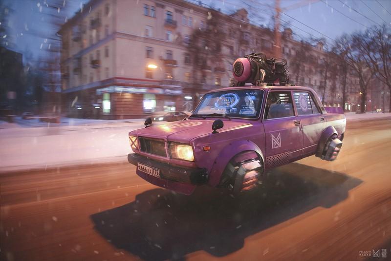 Художник Евгений Зубков видит будущее России весьма необычно